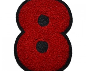 chenille embroidered badge