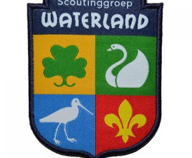 woven scouting badge